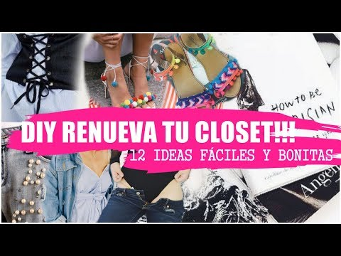 ✅DIY Ideas para Reciclar tu Ropa Vieja ✅12 ideas para renovar tu ropa