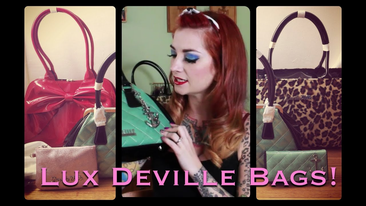 Lux Deville Rock And Roll Handbag Review By Cherry Dollface