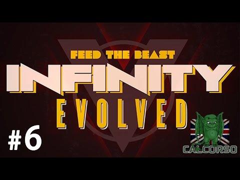 FTB Infinity Evolved - Episode 6 - Travelers Goggles