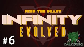 FTB Infinity Evolved - Episode 6 - Travelers Goggles