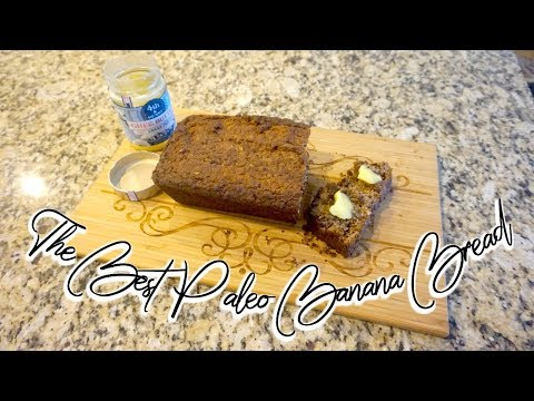 THE BEST Paleo Banana Bread | Grain Free | Dairy Free | Refined Sugar Free