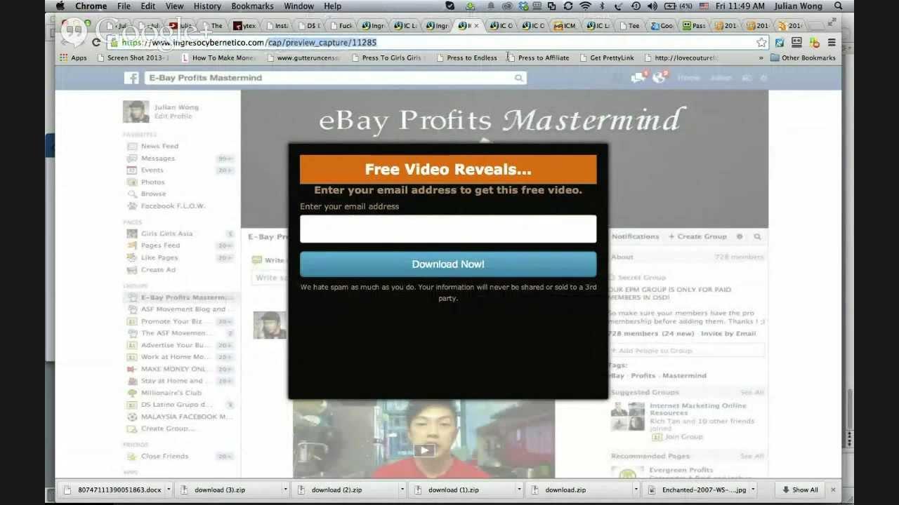Julians online business blueprint webinar youtube julians online business blueprint webinar malvernweather Images