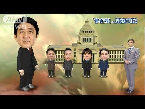 主導権争い一層熾烈に 民主・みんなvs維新・結い(14/03/06)