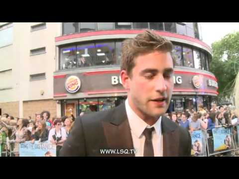 Going The Distance World Premiere - Oliver Jackson-Cohen Interview