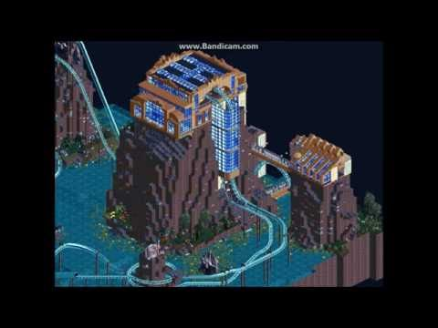 Roller Coaster Tycoon 2 - Dueling Coasters - 'Littoral Ledges'