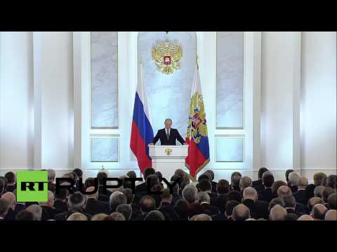 Russia: 'Population growth shows success of demography promotion' - Putin