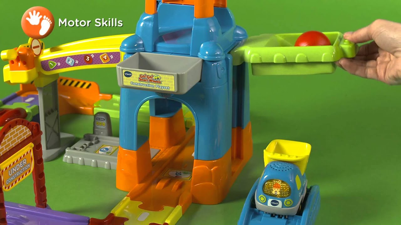 Vtech Go Go Smart Wheels Construction Playset Youtube