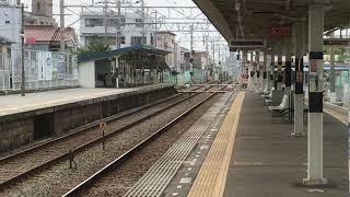 山陽5000系2次車(5018F)直通特急阪神大阪梅田行き 藤江駅通過