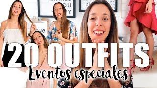 ¡20 OUTFITS! GRADUACIONES, BODAS, COMUNIONES... | Laura Muñoz