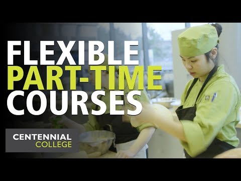 Part-time Hospitality, Tourism and Culinary Arts at Centennial College