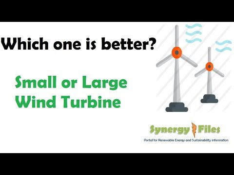 Small Scale V Large Wind Turbines