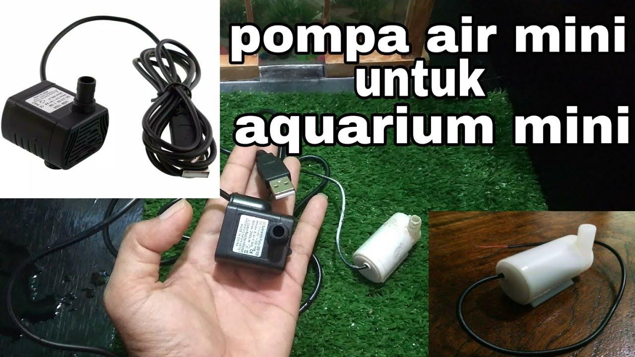 unboxing pompa air mini untuk aquarium mini - YouTube