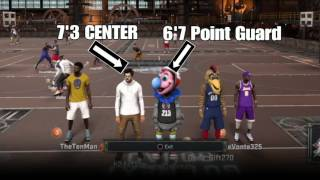 NBA 2K17 ((DEMIGOD GLITCH)) Make a 7