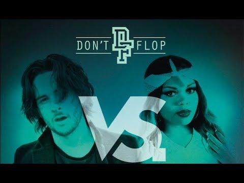 SHUFFLE-T VS JAZ THE RAPPER | Don't Flop Rap Battle