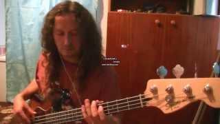 Under My Wheels-Alice Cooper Bass guitar cover II.