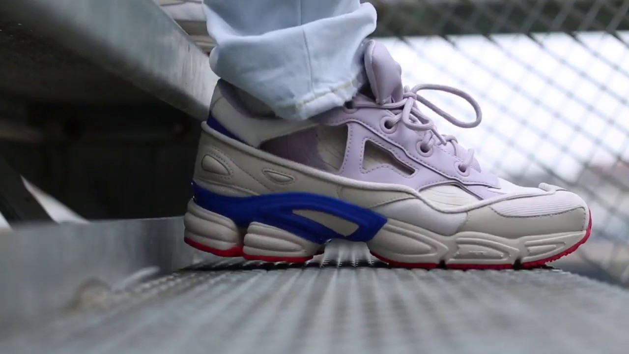 0d15a7586 adidas x Raf Simons Replicant Ozweego USA Sneakers - YouTube