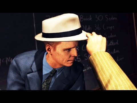 TOTALLY SERIOUS DETECTIVE | LA Noire VR - Part 3 (HTC Vive Virtual Reality Wireless)