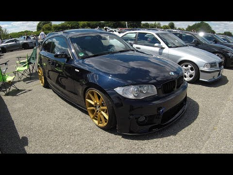 BMW 1-SERIES E81 M-FRONT TUNING! YIDI PERFORMACE WHEELS ! DARK BLUE COLOUR ! WALKAROUND !
