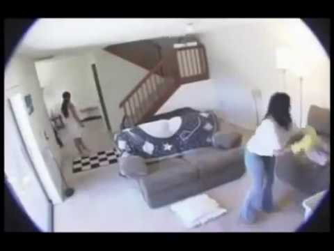 Hidden camera on wife