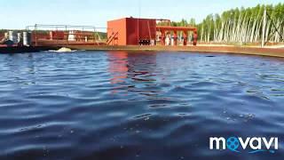 """Поездка на завод осетровых рыб """"Диана"""" в п. Кадуй, Вологодская обл."""