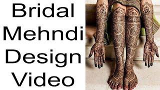 Bridal Mehndi | Latest Mehndi Design 2017 | Full Bridal Mehndi