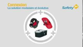 Pack trio  poussette OUTDOOR CONNEXION de SAFETY FIRST