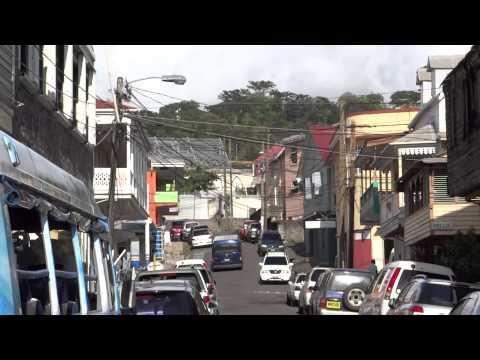 Roseau, Dominica - Downtown HD (2015)
