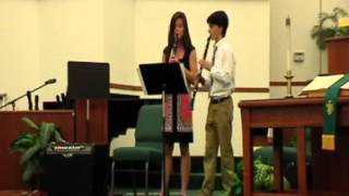Pace Tri-M Induction Ceremony: Katie O'Brien and Grant Godwin Thumbnail