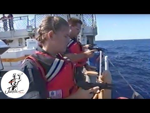 USS Mohawk Boarding Rogue Vessel In The Caribbean