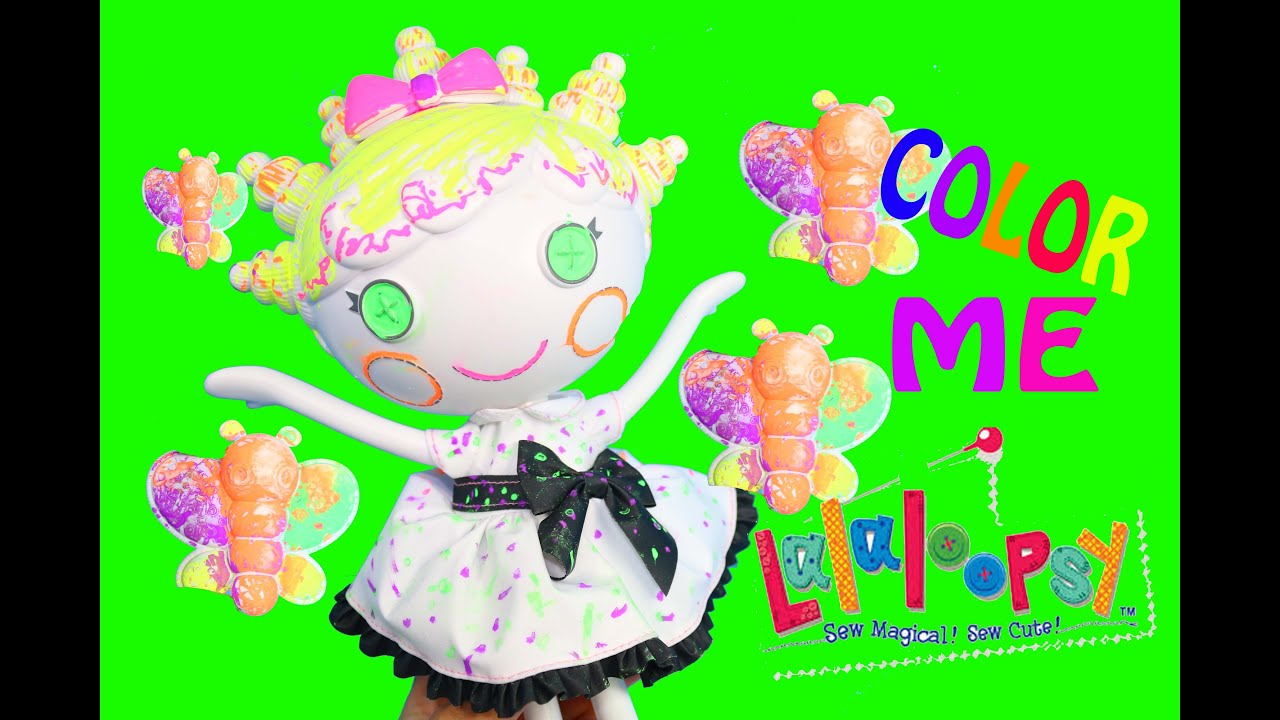 lalaloopsy coloring pages nick jr - photo#37