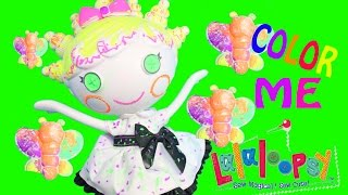 Lalaloopsy Color Me Squiggles Lalaloopsy Doll Nick Jr. Paint Draw Stamp Erase Coloring Craft Toys