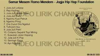 Gambar cover JOGYA HIP HOP Foundation - Semar Mesem Romo Mendem With Lirik