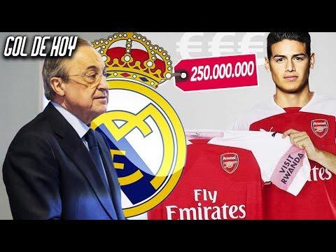 Fichaje de 250 Millones para el Madrid I 'James Rodríguez al Arsenal'
