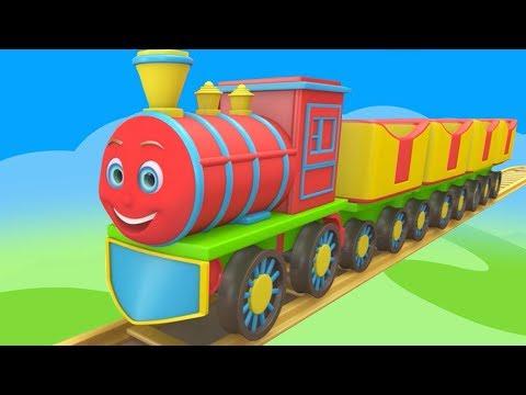 Chuk Chuk Rail Chali | Rhymes in Hindi | Kids Channel India | Hindi Nursery Rhymes | Hindi Poems