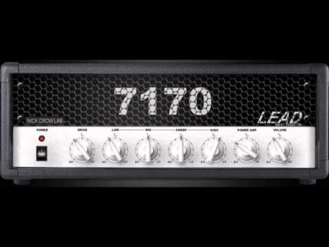 Nick Crow 7170 Lead virtual high gain amp - Metal tone test (free vst plugin) - amnerhunter.com