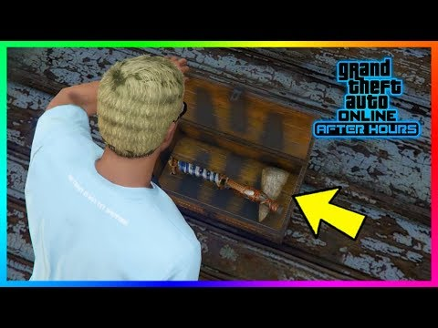 GTA 5 Online - How To Complete The NEW Secret Treasure Hunt & Unlock The Rare Stone Hatchet!