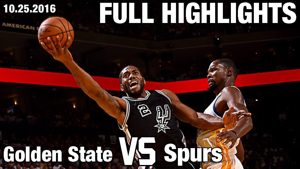 Spurs vs. Warriors RECAP, score and stats Game 2   NBA Playoffs 2017