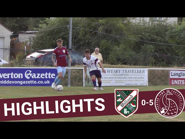 Extended Highlights: Willand Rovers 0-5 Taunton Town
