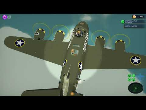 Bomber Crew USAAF DLC Gameplay Mission 1 |