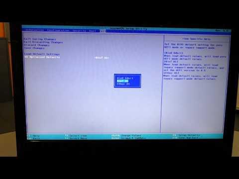 Как переустановить windows на ноутбуке lenovo