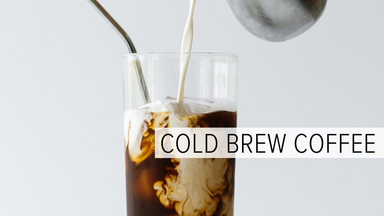 How to make iced coffee out of cold brew