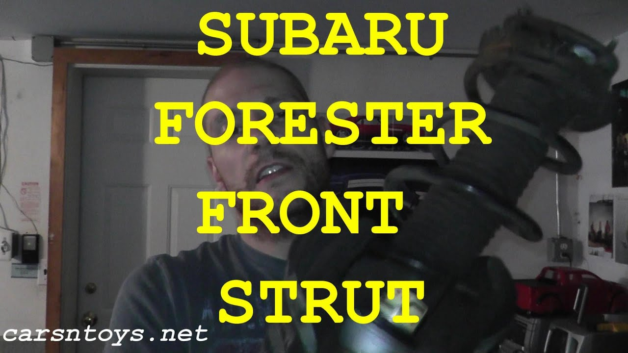 Subaru Forester Front Shock Strut Replacement With Basic Hand