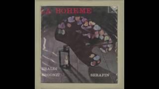 Silent Tone Record/プッチーニ:ラ・ボエーム/トゥリオ・セラフィン指揮聖ローマ聖チェチーリア音楽院管弦楽団/合唱団、レナータ・テバルディ、ジャンナ・ダンジェロ、他