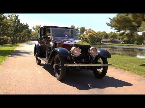 1925 Rolls-Royce - Originally owned by silent film stars LaRocque & Banky