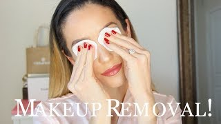 GET UNREADY WITH ME! MAKEUP REMOVAL + SKINCARE