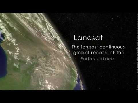 NASA   A Landsat Flyby