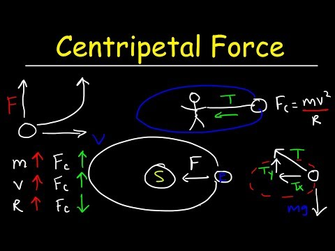Centripetal Force Physics Problems, Tension, Maximum Speed, Uniform Circular Motion