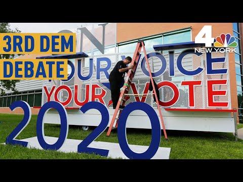 Democratic Debate in Houston: What to Expect from Warren, Sanders, Biden & More   NBC New York