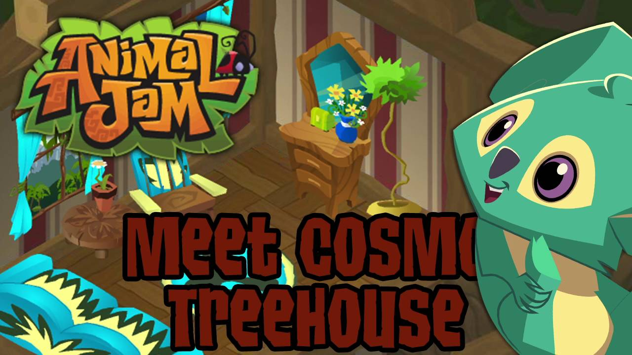 Image of: Meet Cosmo Youtube Animal Jam Ost Meet Cosmo Treehouse Youtube