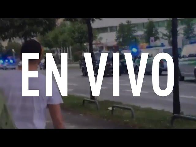 EN VIVO: Tiroteo en el centro de Múnich, Alemania